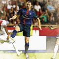 Zlatan Ibrahimovic In Action  by Don Kuing