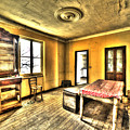 Zoagli Abandoned Home Meeting Room by Enrico Pelos