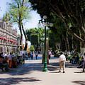Zocalo Puebla 3 by Lee Santa