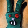 Zombie Bunny by Leah Saulnier The Painting Maniac