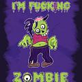 Zombie by Julia Art