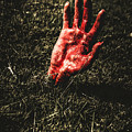 Zombie Rising From A Shallow Grave by Jorgo Photography - Wall Art Gallery