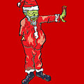 Zombie Santa Claus Illustration by Jorgo Photography - Wall Art Gallery