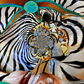 Zoo Animal Abstract by Marty Koch