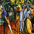 Zoological Garden by August Macke