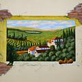 Zorn Villa Mural Sketch by Frank Wilson