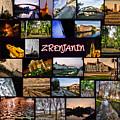 Zrenjanin Collage by Janos Kovac