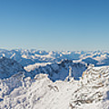 Zugspitze Observatory Panorama by Benjamin Reed