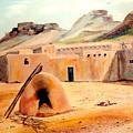 Zuni - Pueblo by Joan Gossett