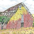 Zuniga Barn by Rachel Zuniga