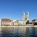 Zurich Cathedral by Didier Marti