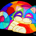 Zzzzzzzzzzzz Cat by Nick Gustafson
