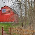 0293 - Patriot Barn II by Sheryl L Sutter