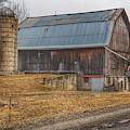 0297 - Seymour Lakes Roadside Barn by Sheryl L Sutter