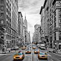 5th Avenue Nyc Traffic by Melanie Viola