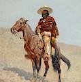 A Mexican Vaquero by Frederic Remington