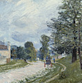 A Turn In The Road by Alfred Sisley