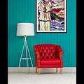 A View Of Art Used For Interior Design by Debra Lynch