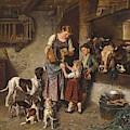 Adolf Eberle  Fresh Milk by Celestial Images