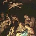 Adoration Of The Shepherds by Gerard van Honthorst