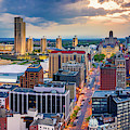 Aerial Panorama Of Albany, New York by Mihai Andritoiu