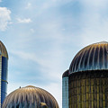 Agricultural Silos Of Rural West Virginia by Dee Browning
