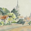 All Saints' Church, Beulah Hill by Camille Pissarro