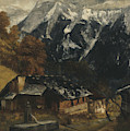 An Alpine Scene by Gustave Courbet