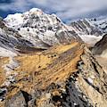 Annapurna South Peak In Nepal by Didier Marti