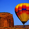 Arizona, Monument Valley, Hot Air by Russell Burden
