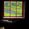 Barn Window by Tom Singleton