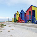 Beach Huts by Rob Huntley