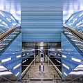 Überseequartier Station, Hamburg by Ken Lee
