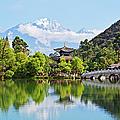 Black Dragon Pool, Lijiang, Yunnan by John W Banagan
