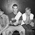 Blink 182 Pose For A Portrait In Los by Jim Steinfeldt