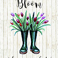 Bloom Where You Are Planted by Elizabeth Robinette Tyndall