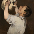Boy With Pitcher by Edouard Manet