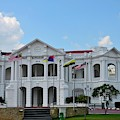 British Colonial Architecture Town Hall And General Post Office Building Ipoh Malaysia by Imran Ahmed