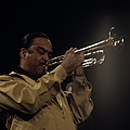 Buck Clayton Performs On Stage by David Redfern