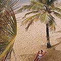 Caribe Hilton Beach by Slim Aarons
