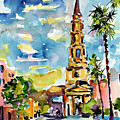 Charleston South Carolina St Philips Church by Ginette Callaway