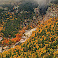 Crawford Notch Fall Foliage by Dan Sproul