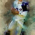 Dallas Cowboys.troy Kenneth Aikman by Nadezhda Zhuravleva