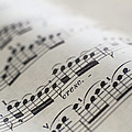 Detail Of Sheet Music by Ryan Mcvay