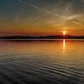 Dog Lake Sunset by Joe Holley