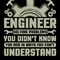 Engineer Problem Solver Engineering Career by Kanig Designs