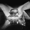 Ford Car Being Driven Through Deep Water by Gjon Mili