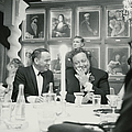Frank Sinatra L Sharing A Laugh With by John Dominis