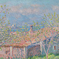 Gardeners House At Antibes, 1888 by Claude Monet