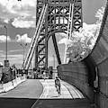 George Washington Bridge Gwb Nyc by Susan Candelario